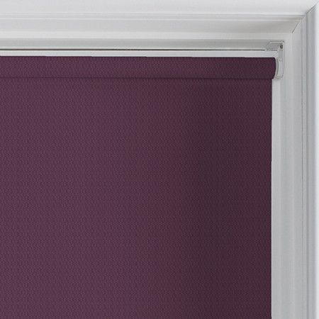 Palermo (Blackout), Burgundy - Roller Blind