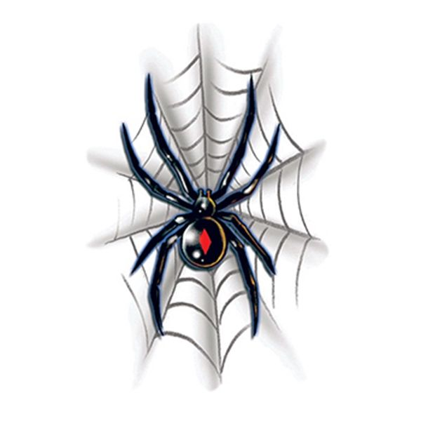 Black Widow With Web Temporary Tattoo Black Widow Temporary Tattoo Black Widow Spider Tattoo Black Widow Tattoo Spider Tattoo