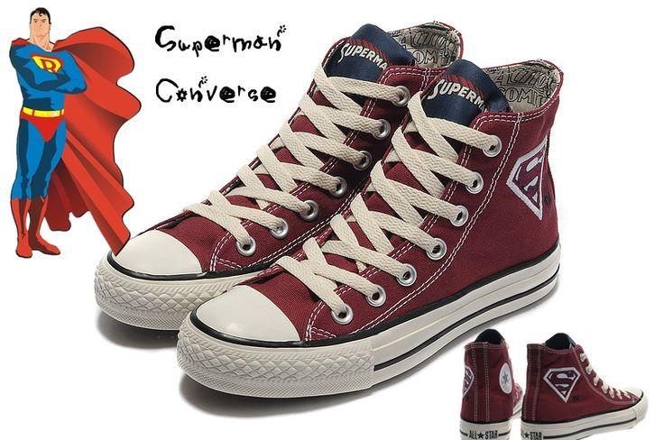 DC Comics Superman Converse All Star Shoes