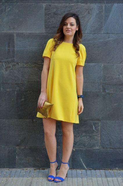 Looks con vestidos amarillos - Trendtation