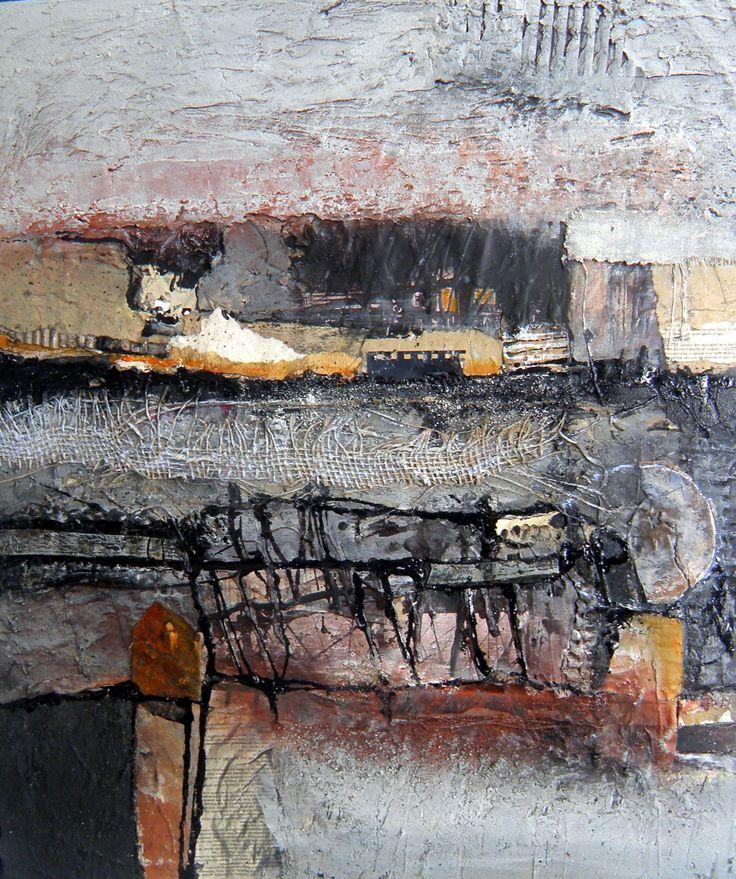 50x60 mixed media Gerard Brok art