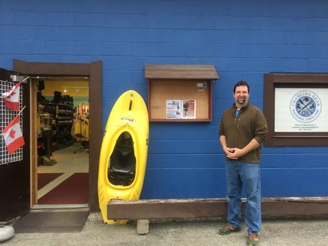 Yukon Entrepreneur Patrick Jackson @ChangingGear the sporting goods store everyone is talking about! https://loom.ly/-TuIpyo