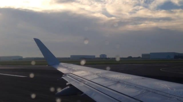 Take-off from Schiphol Airport (Amsterdam)