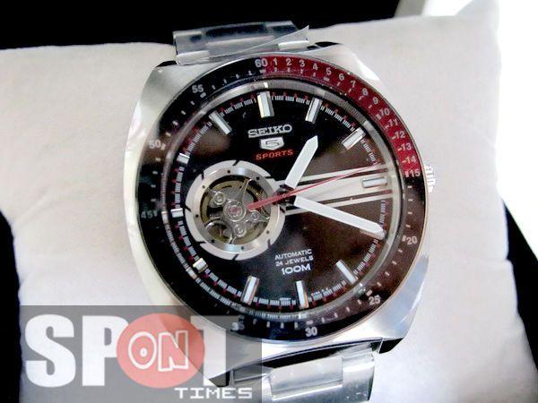 Seiko 5 Sports Retro Automatic Mens Watch SSA329K1
