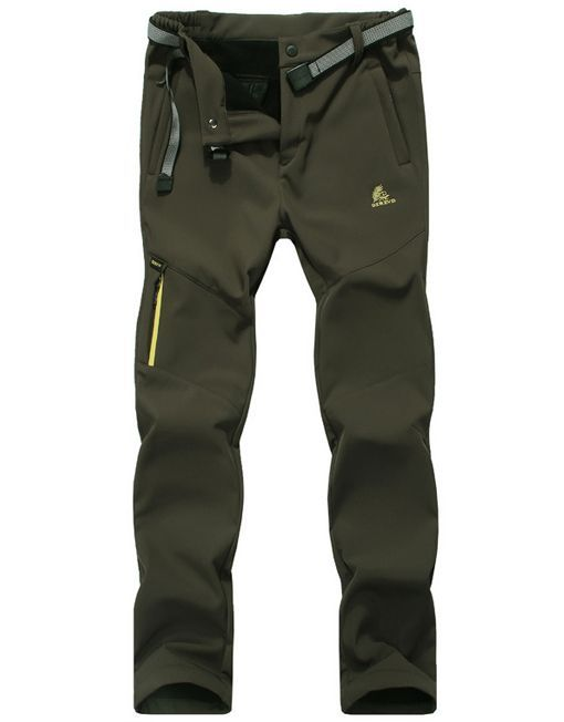 Lovely ** Women's Hiking Pants Fleece Lining Waterproof Strectable Soft Shell Pants - Winter Clothes