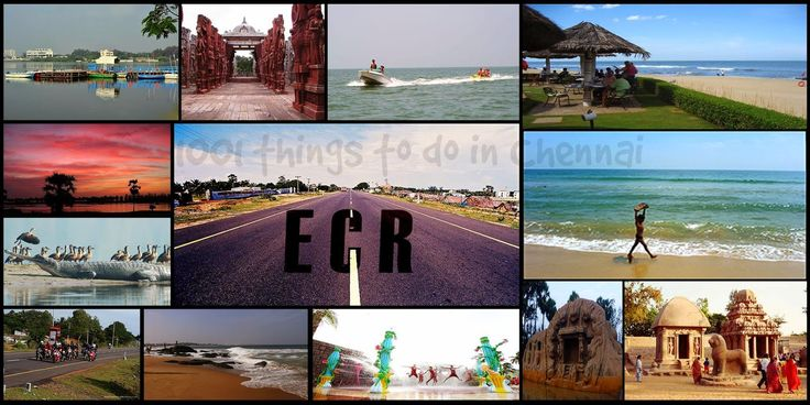 ECR,  Chennai is a perfect spot for weekend picnics. The entire road is filled  with amusement parks, beaches, multiplexes, themed rest...