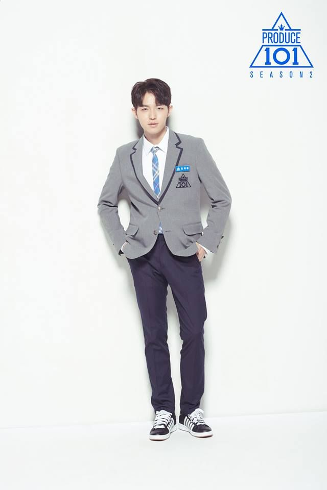 produce 101 season 2 trainee profile photos KIM JAEHWAN