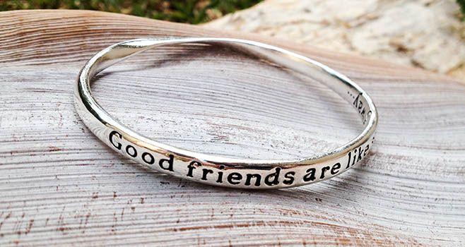 Majique Jewellery - Good Friends Are Like Stardust'. Find it at www.giftedmemoriesjewellery.com.au