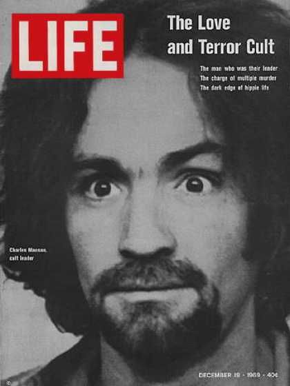 The term Helter Skelter was from the Beatles song of that name, was interpreted by Manson as a call to the war. Manson was certain that the Beatles had tapped in to his mind.