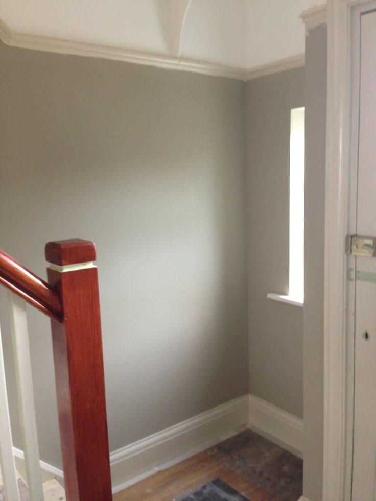 Hall walls in dulux bleached lichen 1 kitchen pinterest for Dulux bathroom ideas