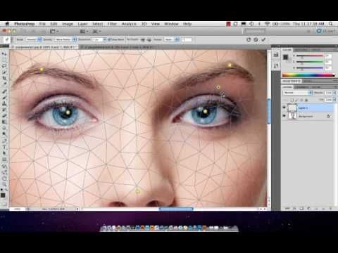 Adobe Photoshop - Puppet Warp - For Retouching
