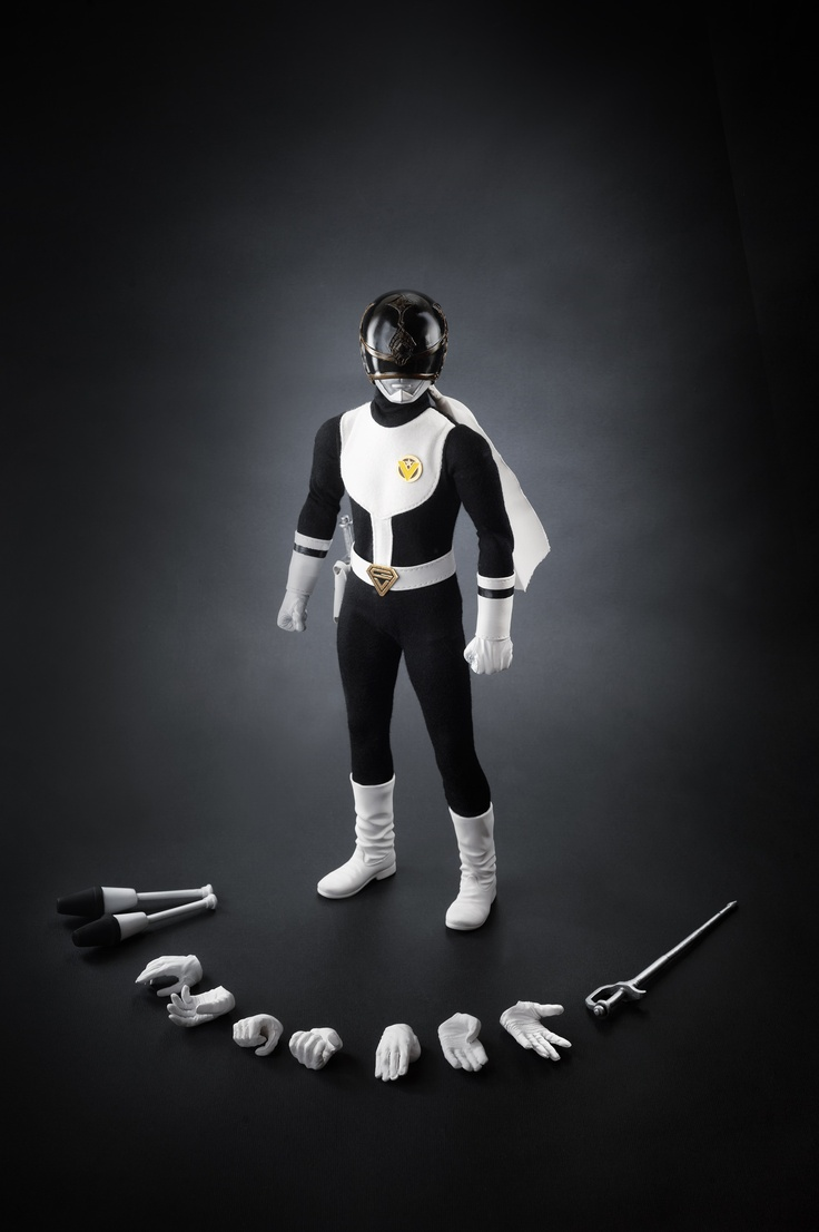 "Dai Sentai Goggle V - Goggle Black, 12"" scale, limited 85 piece worldwide, comes with serial number & certificate."