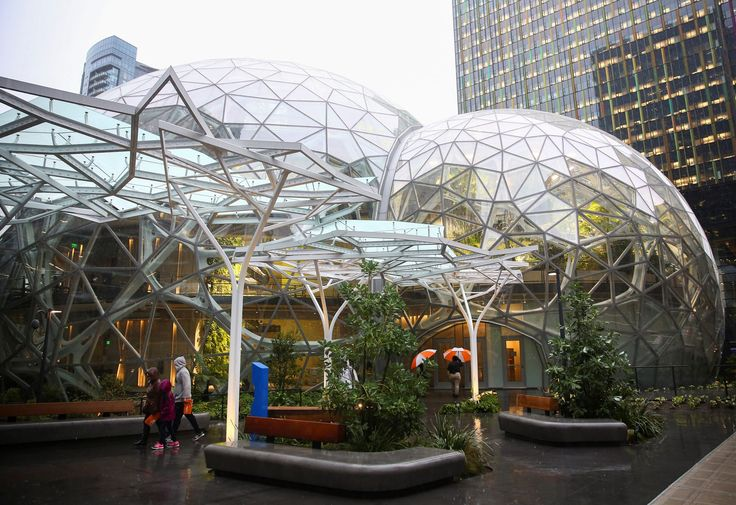 FOX NEWS: Amazon shows off its bubble greenhouses at Seattle HQ