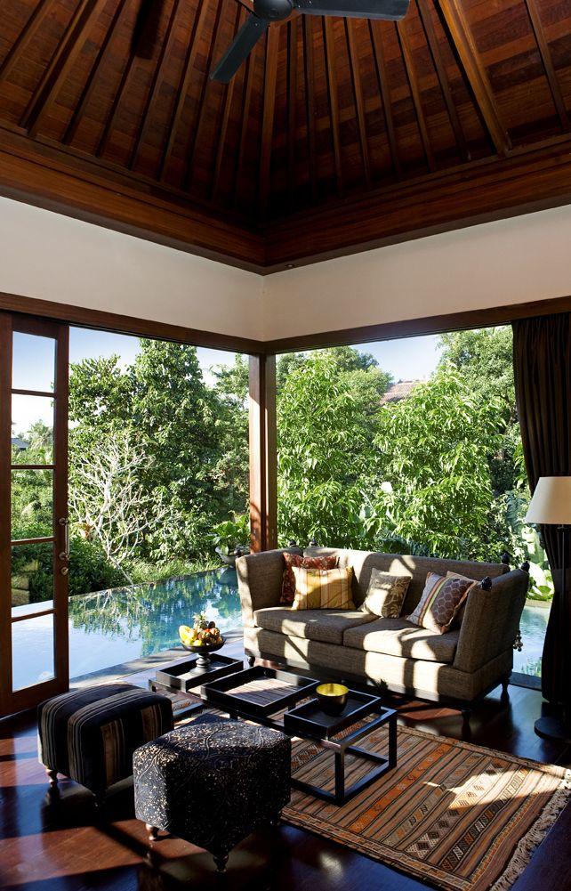 Pool villa interior