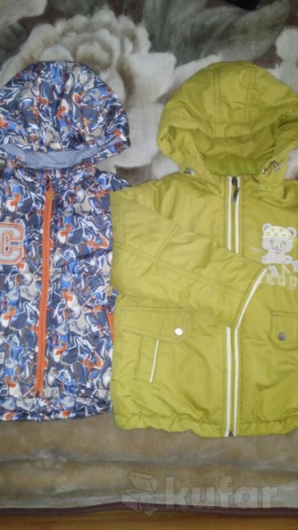 Курточки детские весна- осень