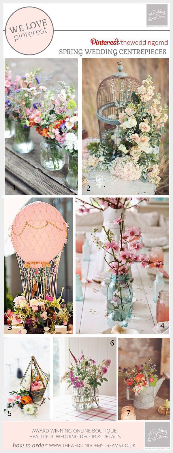 Spring Wedding Centrepieces Ideas Inspiration