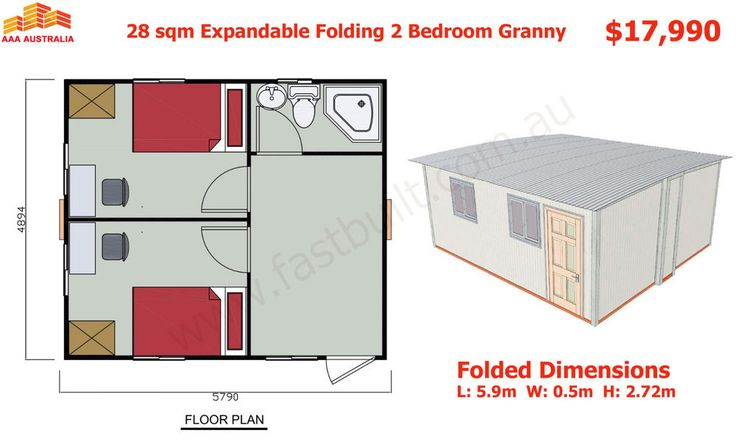 28sqm, 1 - 2 Bedroom, Bathroom, Expandable, Folding Granny Flat Cabin, 2 Hours to Set Up. CHECK BELOW OUR OCTOBER ! Bathroom floor: PVC. We will give you all above extras for FREE if you place order in October and use unit as DISPLAY allowing people to inspect by appointments only (you can live or rent it). | eBay!