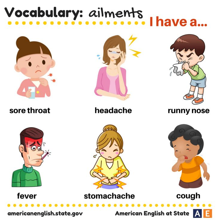 57 Best Images About Health And Illness Vocab On Pinterest English