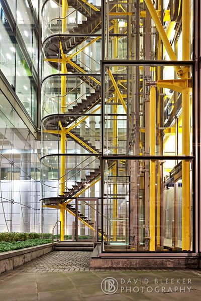 Richard Rogers stairs