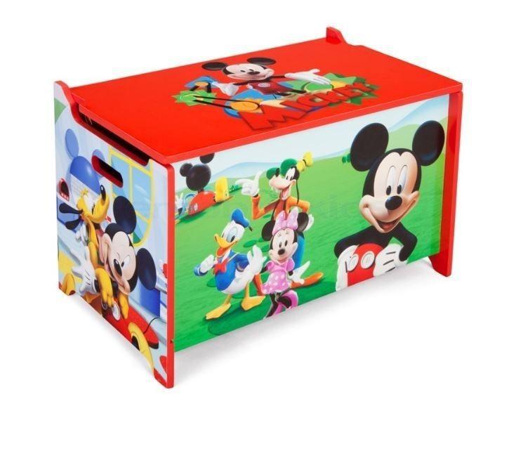 Speelgoedkist Mickey Mouse Delta