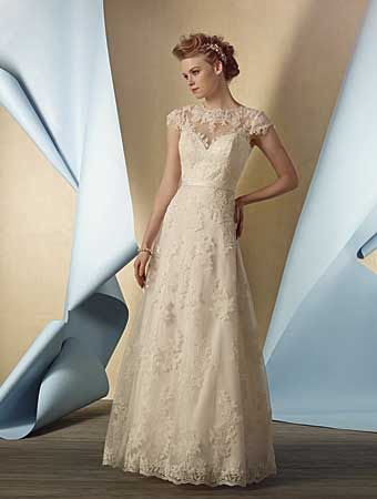 Alfred Angelo 2430- lace gown- Sugar and spice UK - Lincoln