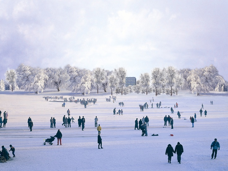 Winter in Templin