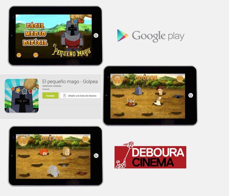 """¡GOLPEA A LOS ENEMIGOS! Juego muy divertido tipo """"golpea los topos"""", pero ten cuidado de no golpear a Bieito, Destreza o el perro.  Descárgalo gratuitamente: https://play.google.com/store/apps/details?id=com.KurtzGames.Golpea&hl=es O juega online: www.elpequeñomago.com/   #juegos #gratis #game #free #golpea #DesEstresante #pelicula #animacion  #clasico #descarga #descargagratis #freedownload"""