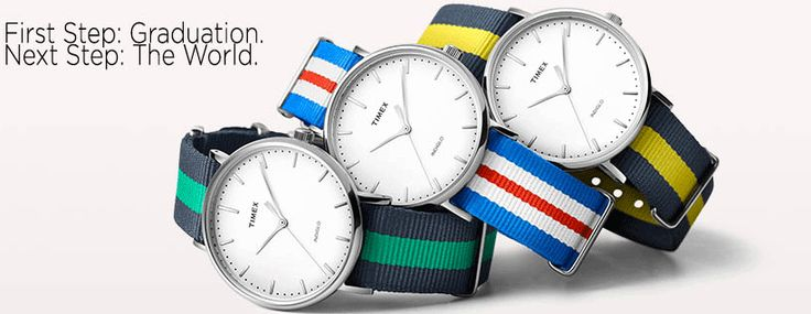 Special Offers. Big savings on Timex promotion from 5/10 to 6/30 for Graduation and Father's Day! Save 20%