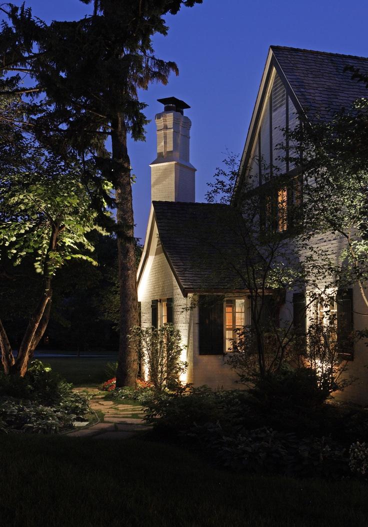 137 best residential landscape lighting images on pinterest for Residential outdoor lighting