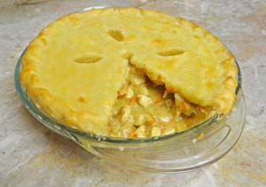 Gluten Free Chicken Pot Pie with Flaky Easy to Handle Dough: http://glutenfreerecipebox.com/gluten-free-chicken-pot-pie/