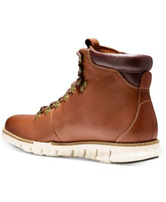 Cole Haan Men's Zero Grand Hiker Water-Resistant Ii Boots - Brown 11.5