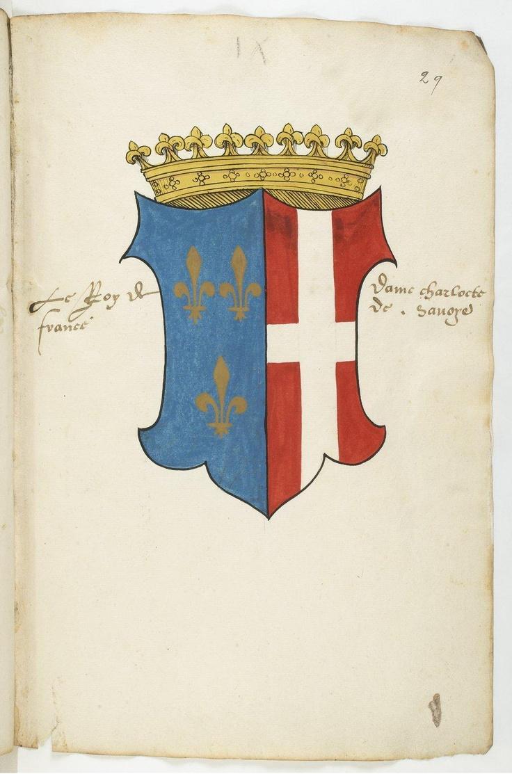 Armorial colori de la maison de savoie et de ses alliances depuis b rold c - Maison des alliances ...