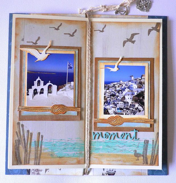 Artdeco Creations Brands: Mini Album by Adriana Bolzon