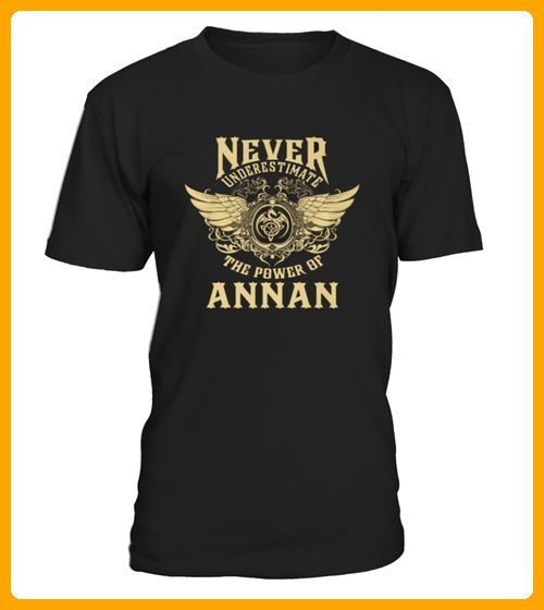 Top ANNAS Name  Never Underestimate ANNAS front Shirt - Ananas shirts (*Partner-Link)