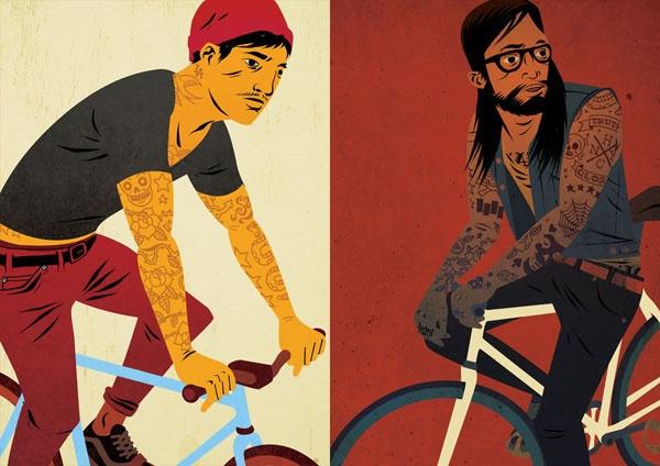 Juxtapoz Magazine - The Work of Matt Taylor | Illustration