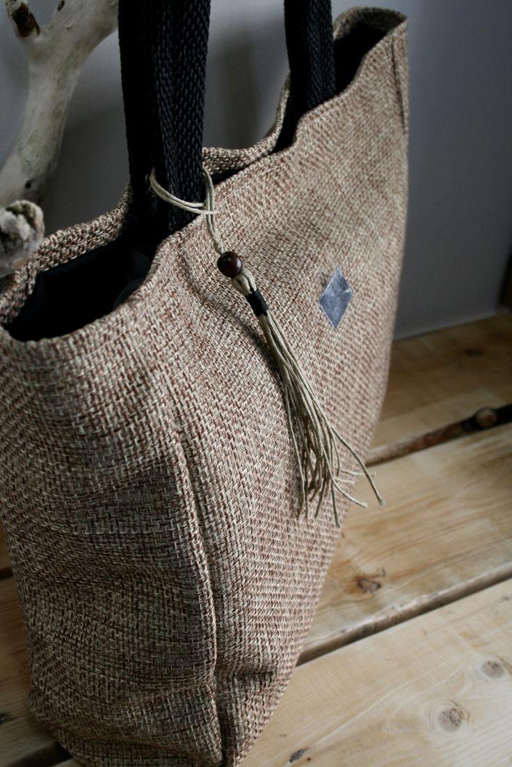 handmade, comfy tote bag