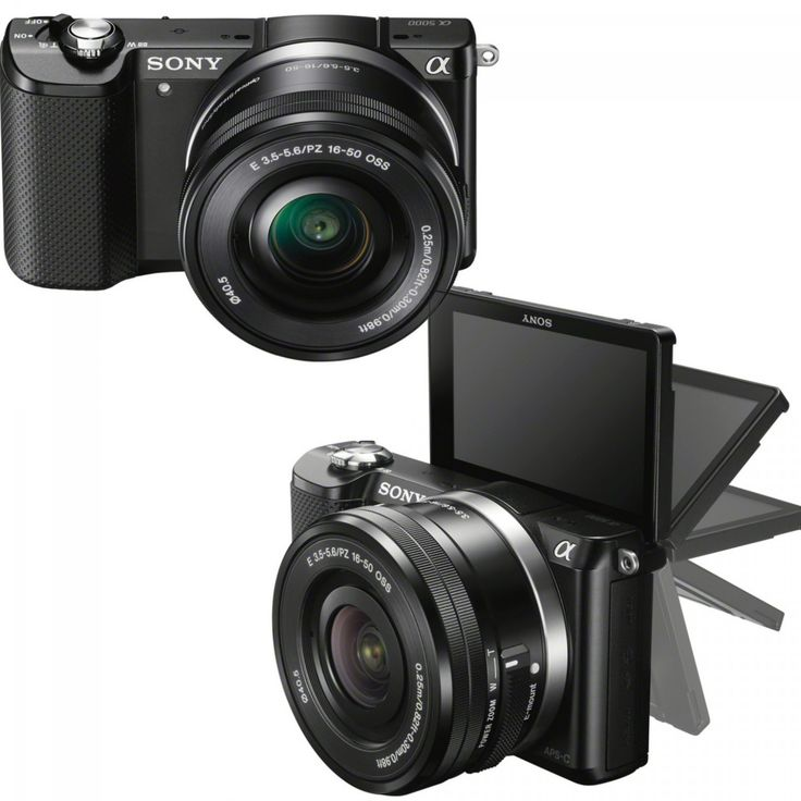 New in // Sony A5000