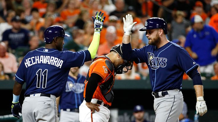"Lucas Duda's HR breaks Rays' team HR record  ||  BALTIMORE -- Lucas Duda blasted a Statcast-projected 375-foot home run to give the Rays their 217th home run of the season during a 9-6 win against the Orioles on Saturday night. The long ball broke the team single-season franchise record for homers, set last season. ""I wasn't actually aware of [the record], but it's nice,"" Duda said. ""I guess it's just about luck. https://link.crwd.fr/4hh0"