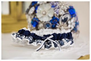 Wediquette and Parties: Kelsea & Ryan's Penn State Wedding- Penn State garter and much more!