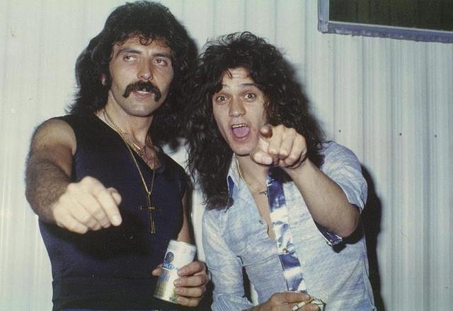 Tommy Iommi e Eddie Van Halen.