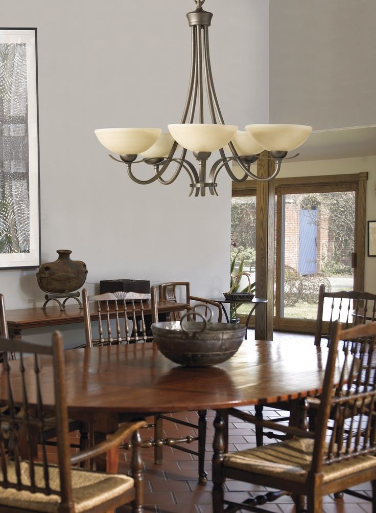 Kinsey Chandelier From Murray Feiss Lighting Transitional Dining Rooms5 Light