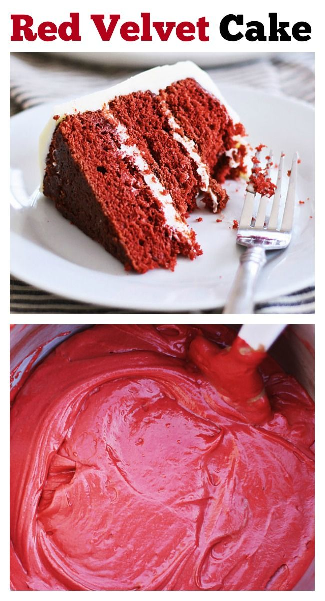 #halloween Red Velvet Cake – delicious cake loaded with cream cheese frosting, perfect for anytime of the year but especially festive for the holidays season. Get the easy recipe | rasamalaysia.com