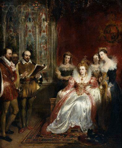 Elizabeth I and William Shakespeare