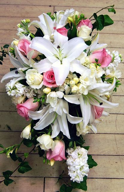Bridal Bouquet - Monday Morning Flower and Balloon Co in P… | Flickr