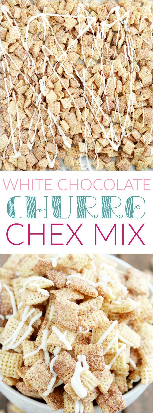 White Chocolate Churro Chex Mix http://www.somethingswanky.com/white-chocolate-churro-chex-mix/?utm_campaign=coschedule&utm_source=pinterest&utm_medium=Something%20Swanky&utm_content=White%20Chocolate%20Churro%20Chex%20Mix