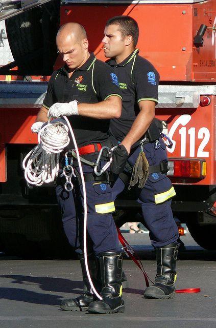 Fireman gay porn