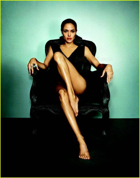 Angelina Jolie. Photographer: Annie Leibovitz