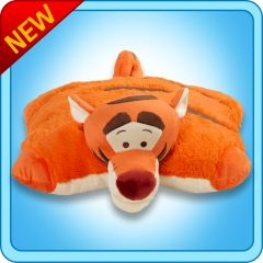 AAHH I WANT THIS PILLOW PET: Tigger Pillows, Disney Tigger, Pet Tigger, Tigger Stuffed, Pet Neonz, Recipes Hair, Plush Tigger, Pillows Pet, Animal Pillows