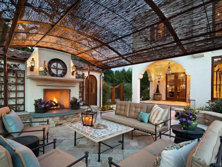 Nice Extraordinary Property: Mediterranean Estate With Old World Charm In Palo  Alto, California #patio