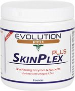 """SkinPlex PLUS Enzymes & Nutrients:         Product Description:  Veterinarians and animal professionals agree that a vast majority of health related issues in dogs are a result of problems they experience digesting and absorbing the nutrients, minerals, and vitamins provided to them in their diet often causing skin problems such as itching, scratching, hot spots, and a host of other issues. Use coupon code """"pin15"""" for 15% off your order."""